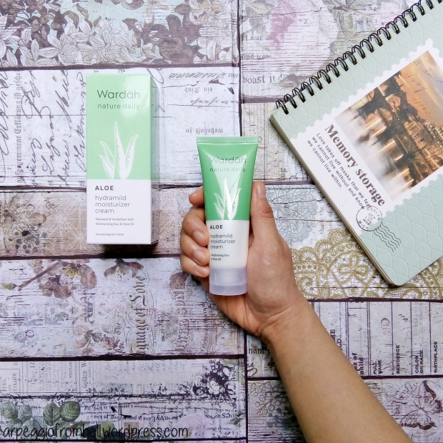 Wardah ALOE Hydramild Moisturizer Cream (review) – Review ...